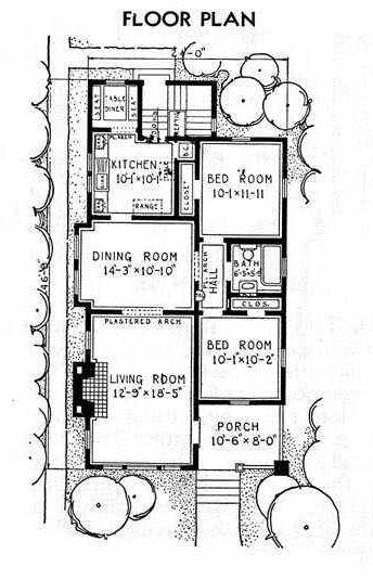 Railroad house layout