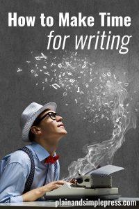 make-time-for-writing-tips