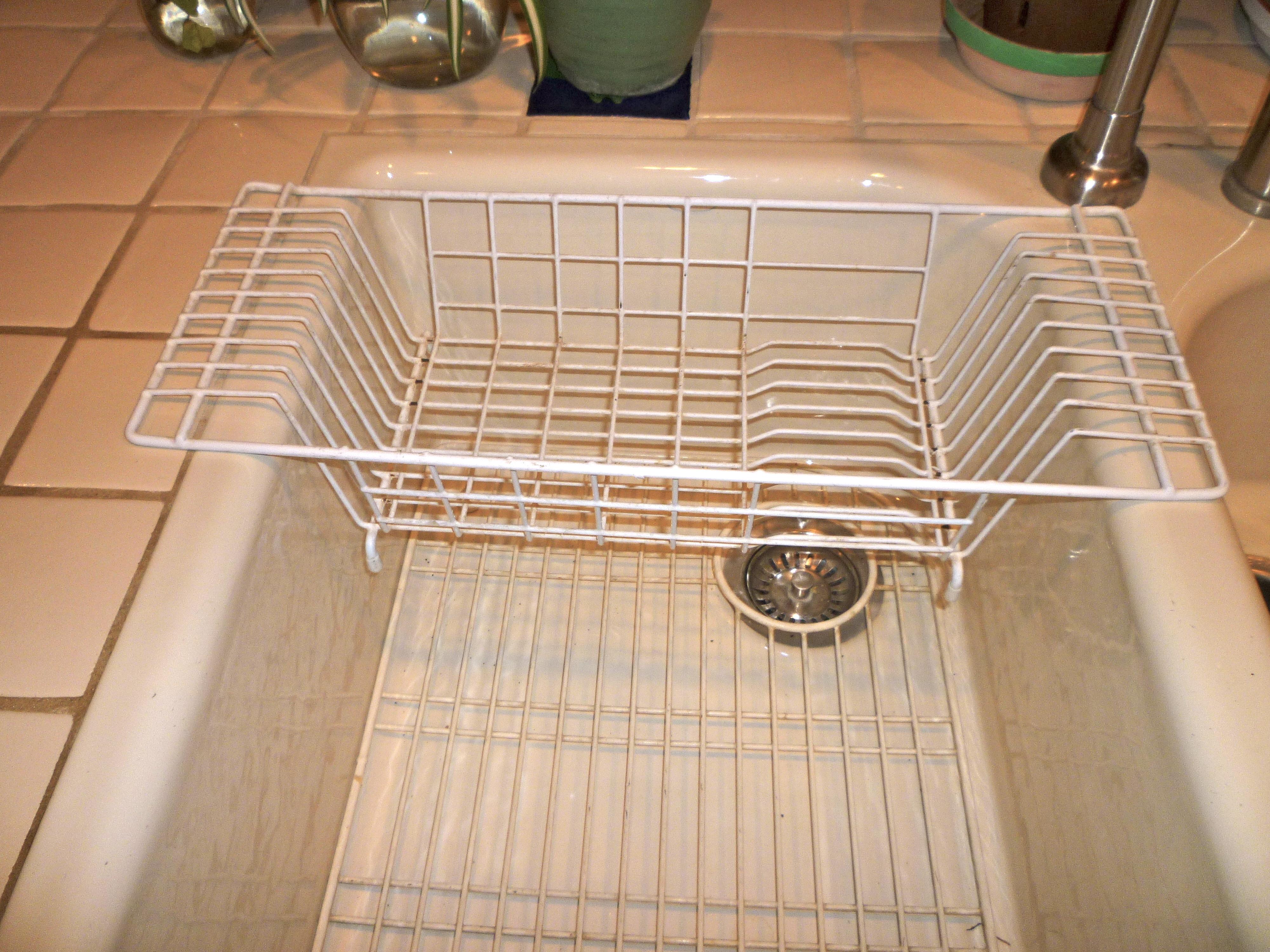 Impressive Drying Rack Dinnerware Set Dish Dryer Kitchen. Kitchen Sink Dish  Drainer Inspirational Racks Stainless Shape Gri
