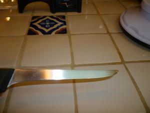 Knife boning