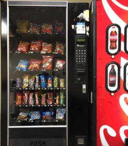 10 Junk food machine