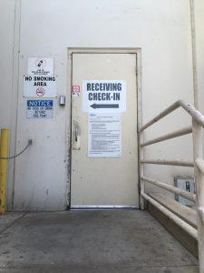 17 receiving door